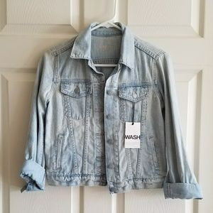 NWT Gap Super Soft Denim Jacket XSP / XS Petite